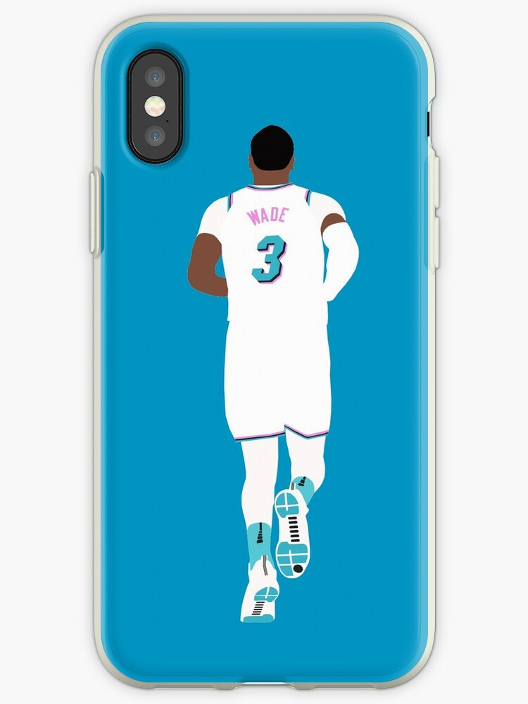 sale retailer 1ee2a 5facd 'Dwyane Wade Miami Vice' iPhone Case by RatTrapTees