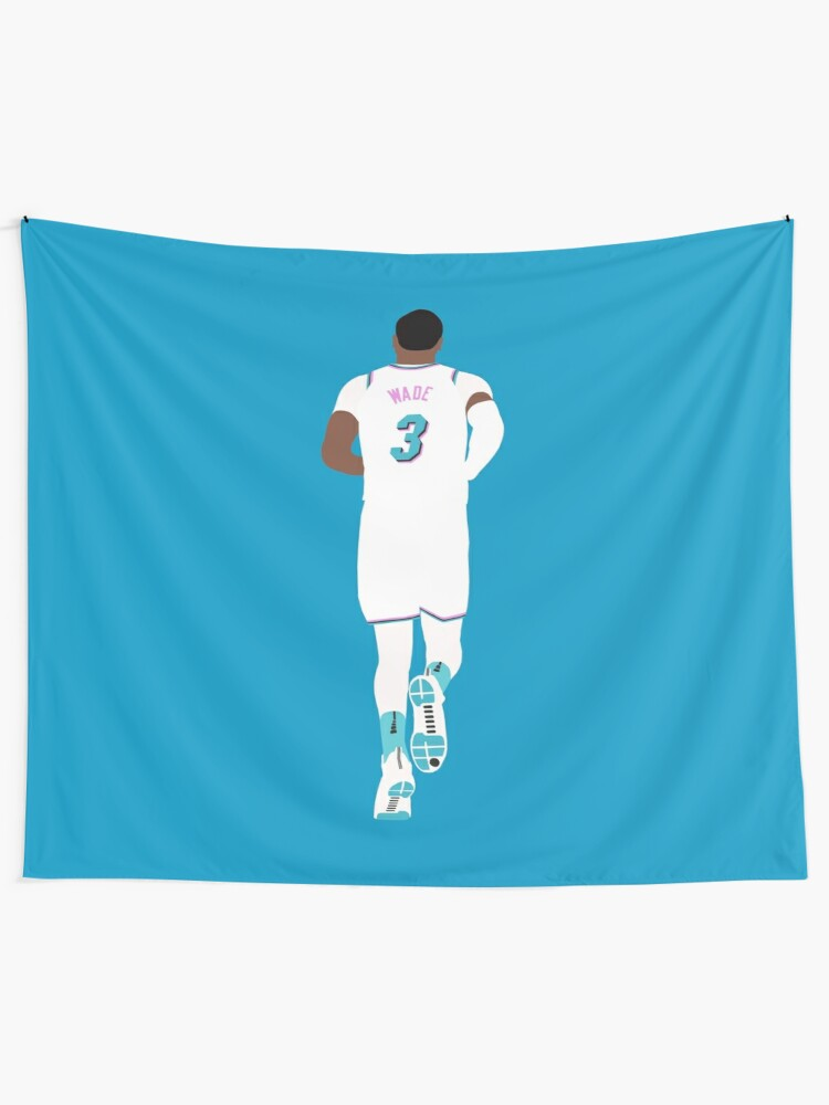 the latest fa8fe 025d1 Dwyane Wade Miami Vice | Wall Tapestry