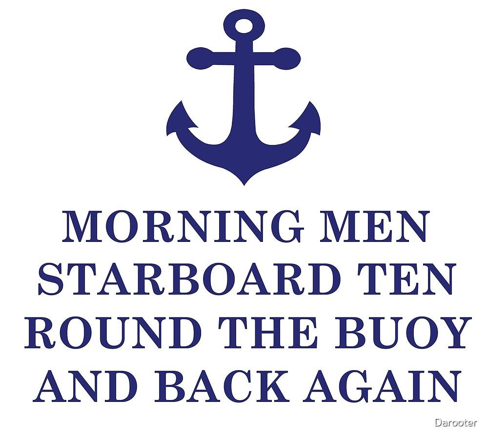 Navy - morning men starboard ten by Darooter