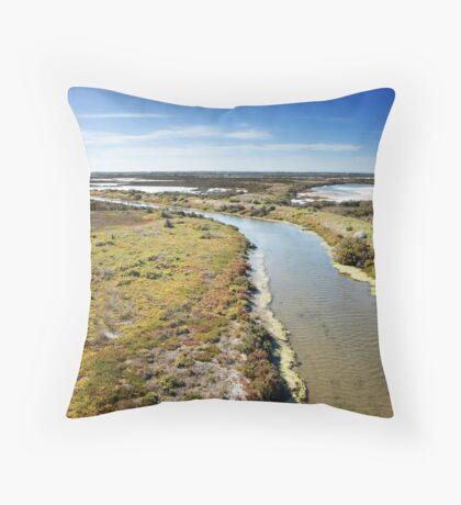 Cheetham Wetlands Throw Pillow