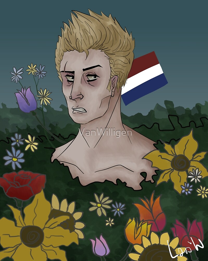 APH Netherlands and his Flowers by VanWilligen