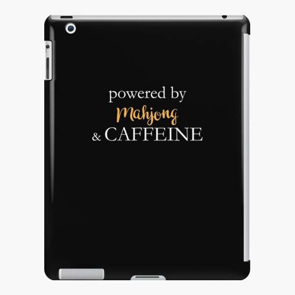 Powered By Mahjong And Caffeine iPad Snap Case