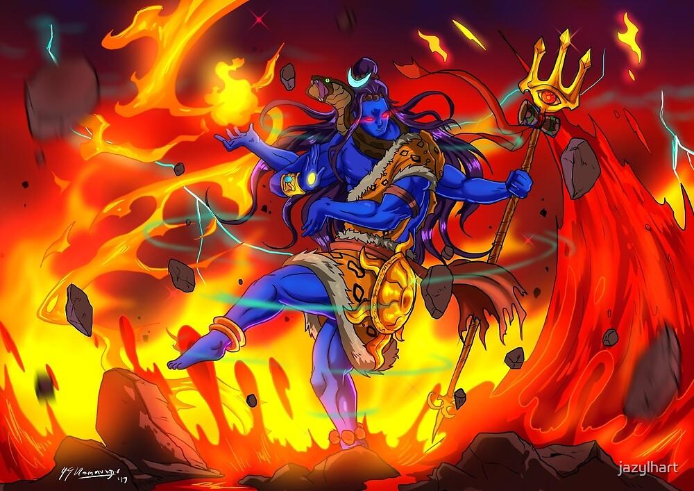 Shiva Tandav by jazylhart