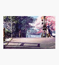 Anime Scenery 1 Photographic Print