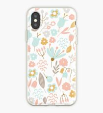 Flowers playful iPhone Case
