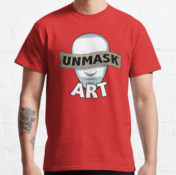 Original Unmask Art Logo Classic T-Shirt