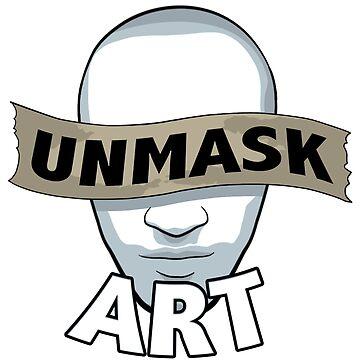 Original Unmask Art Logo by UnmaskArt