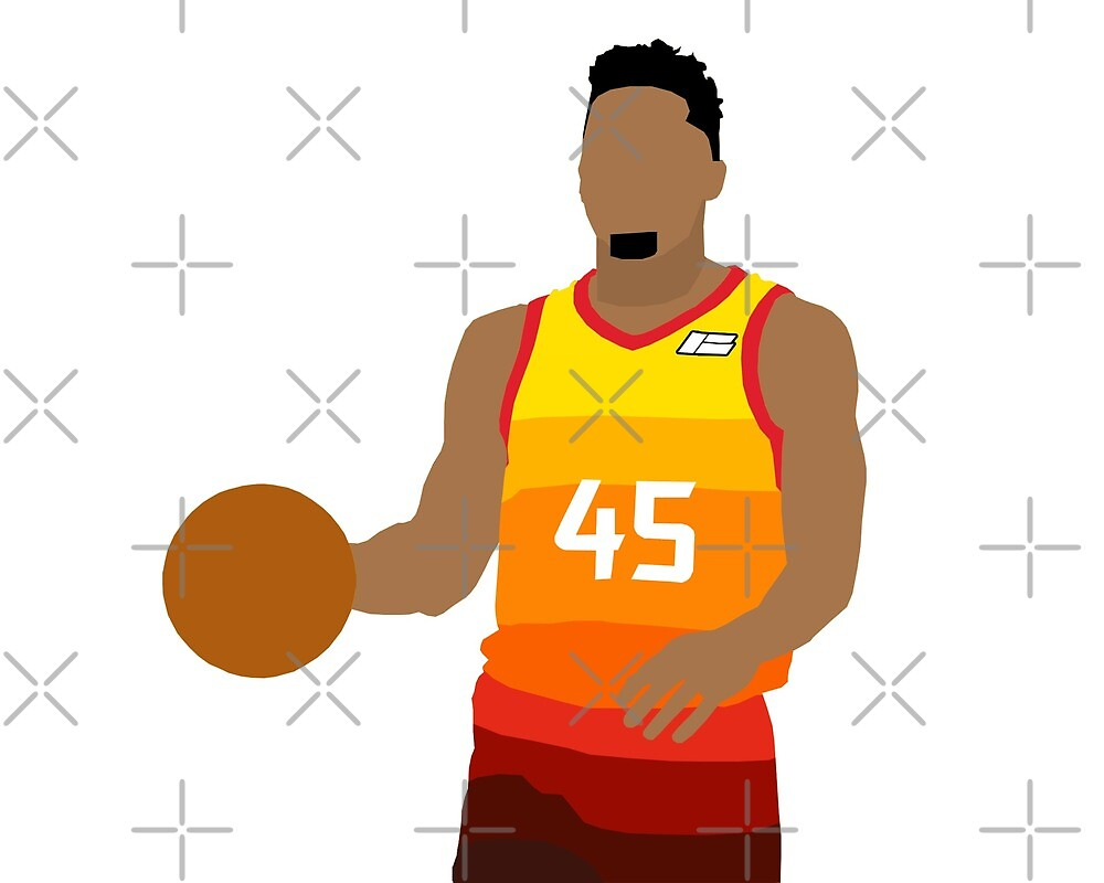 Donovan Mitchell by nbagradas