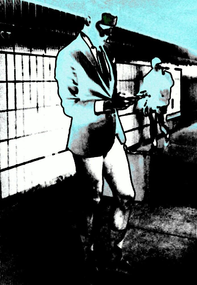 Waiting - Blu by craigheidel