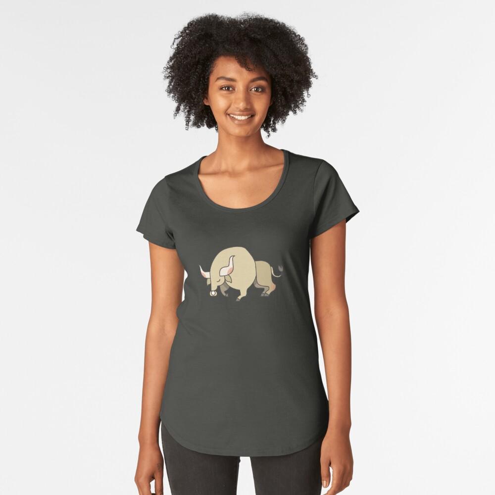 Bull Women's Premium T-Shirt Front