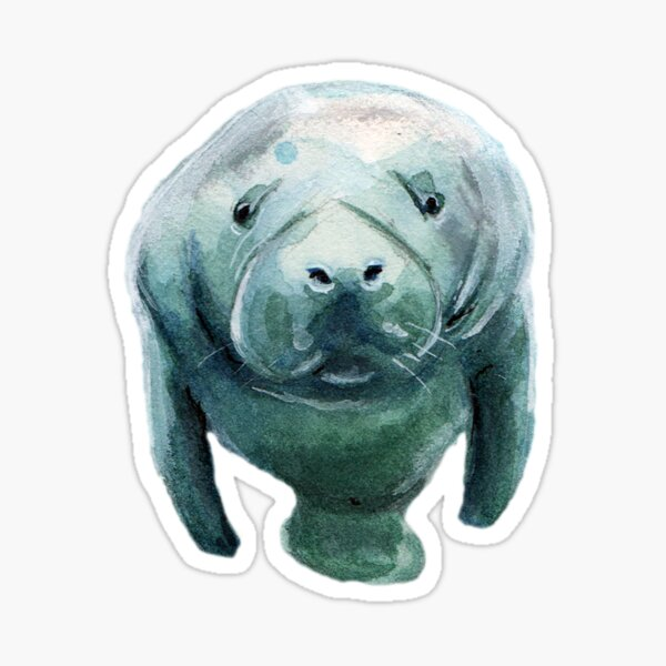 Mister Manatee - No BG Sticker
