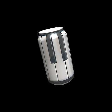 Canned keyboard by stuwdamdorp