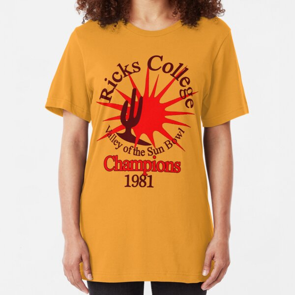 RICKS COLLEGE - 0209 Slim Fit T-Shirt