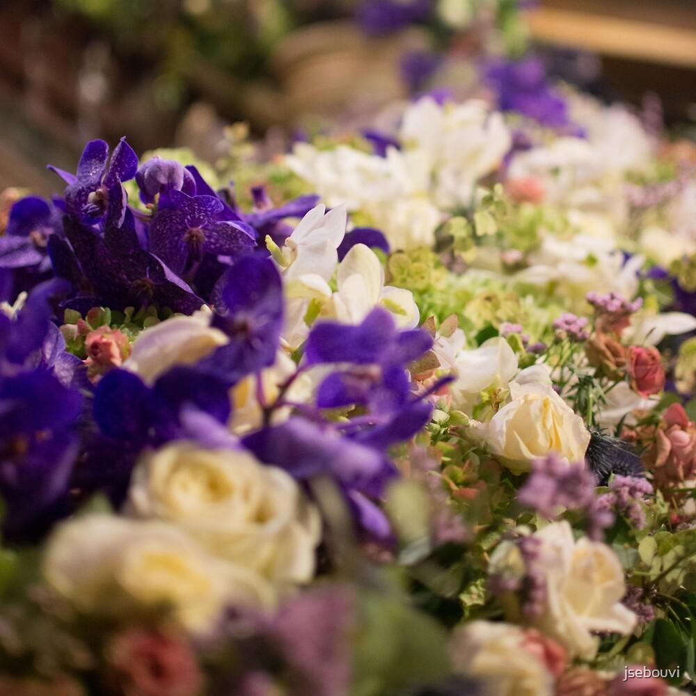 Bouquet of flowers, violets by jsebouvi