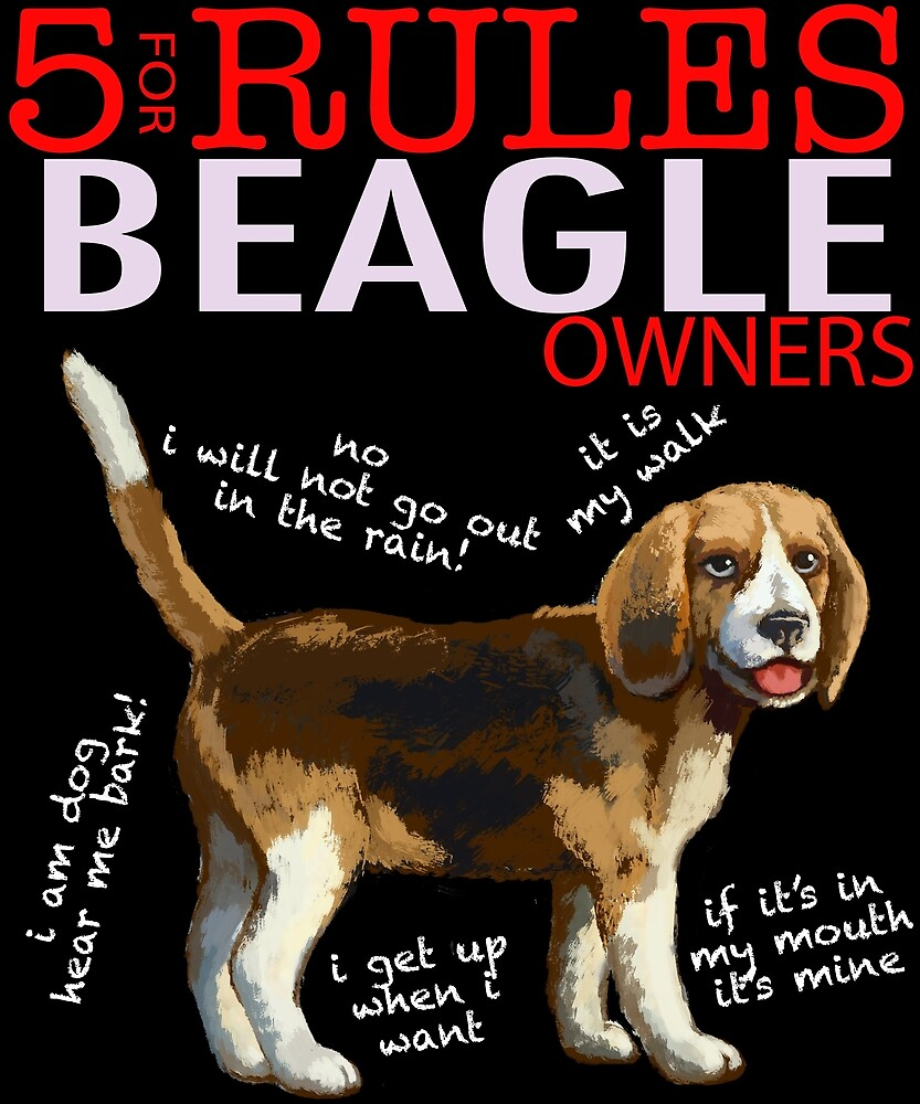 5 Rules for Beagle Owners by MichaelRellov