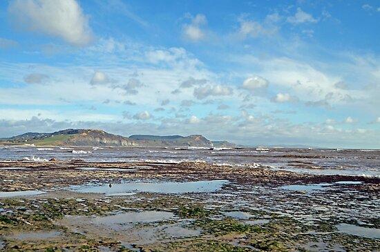 Winter in Lyme Regis.... Dorset UK by lynn carter
