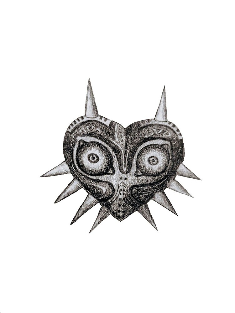 Majoras Mask by Gaelgetron