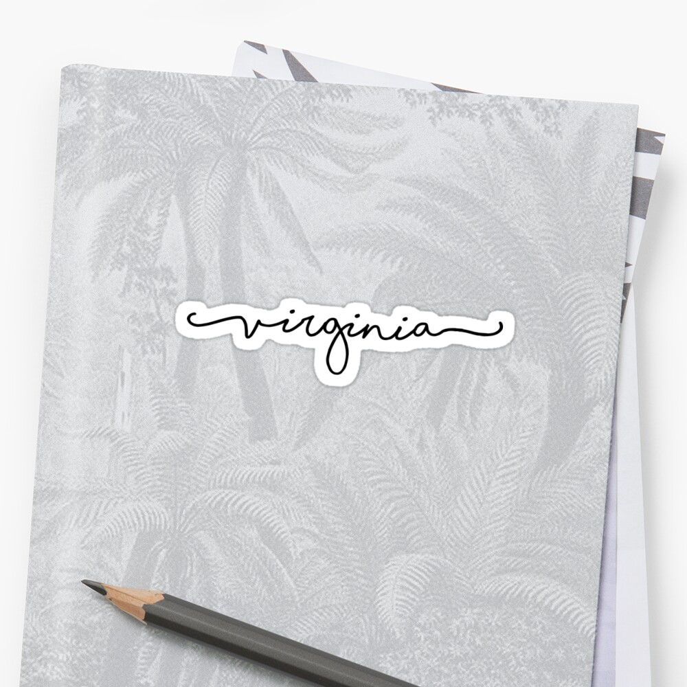 Virginia Script by livpaigedesigns