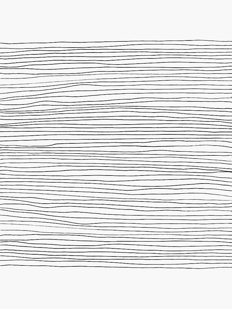 Geometric pattern black and white lines by mirunasfia