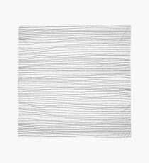 Geometric pattern black and white lines Scarf