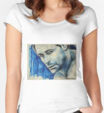 Rob Lowe, featured in Art Universe Women's Fitted Scoop T-Shirt