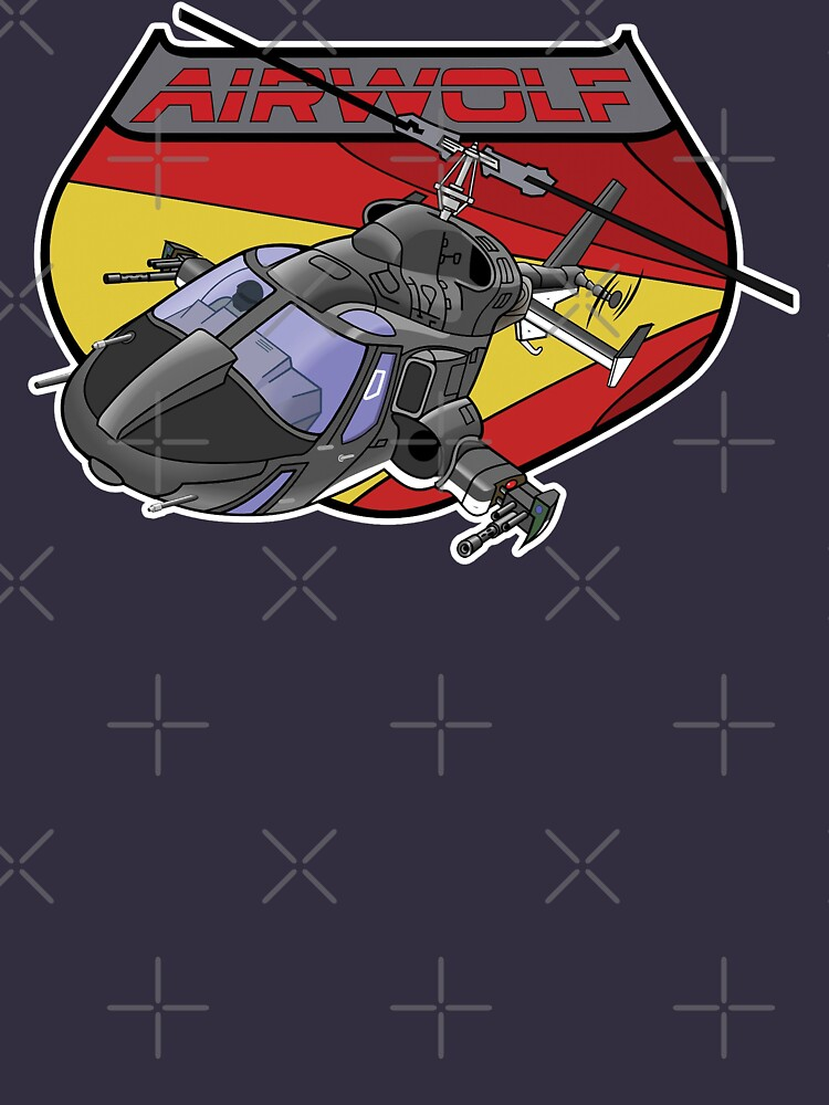 The 80s Super Helicopter by McPod