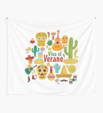 Viva el Verano en Mexico Wall Tapestry