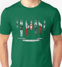 The Mighty Smithtons.i n red Unisex T-Shirt