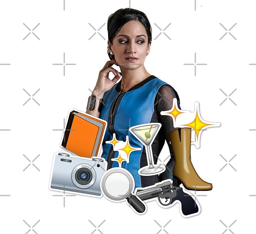 Kalinda emoji collage by aluap106