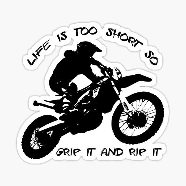 Grip it and rip it Sticker