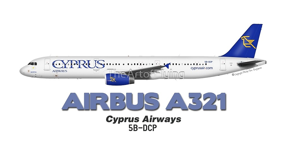 Airbus A321 - Cyprus Airways by TheArtofFlying