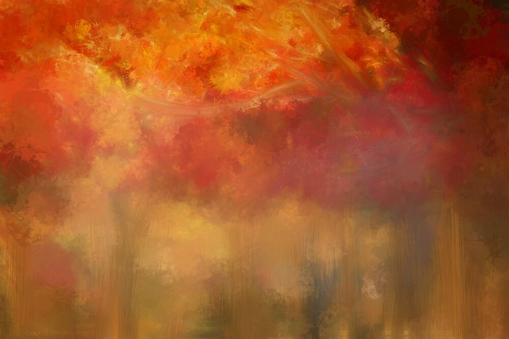 Autumn Painting by TerryIKON