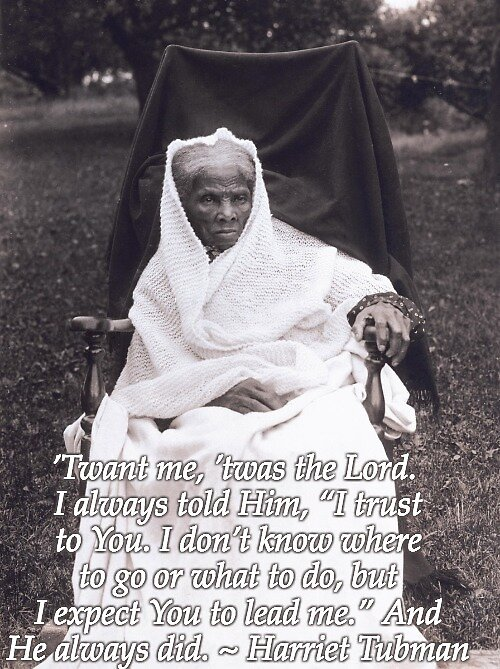 Harriet Tubman ~ Statement of Faith by Nancy Jewell