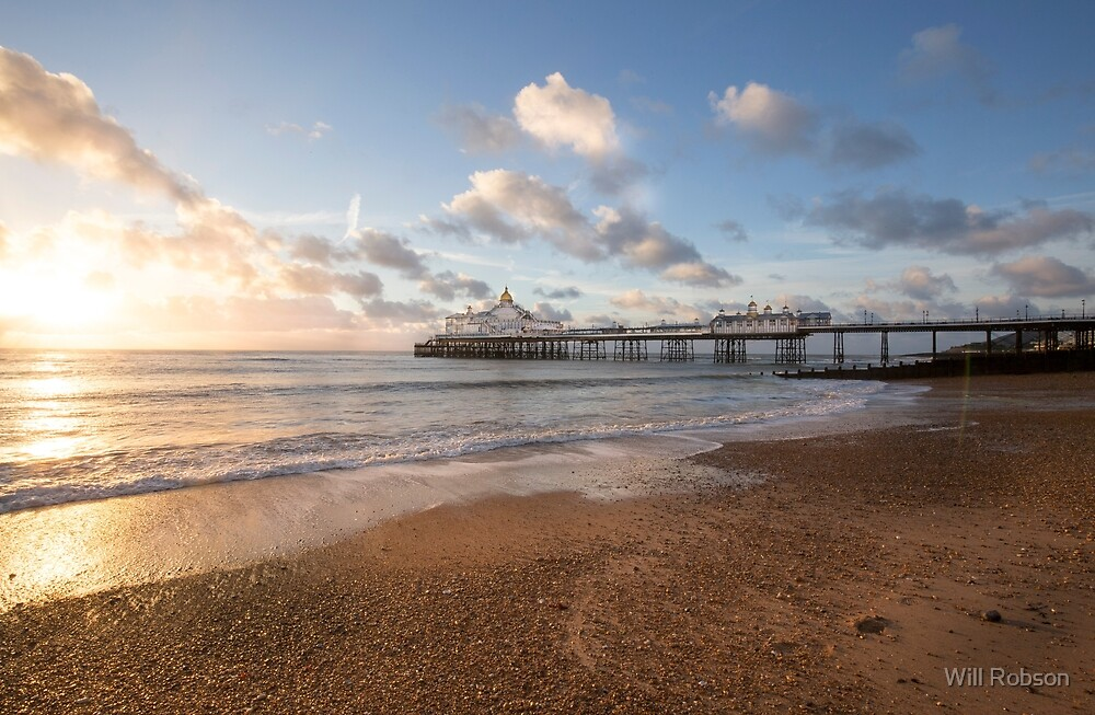 Sun Surprise at Eastbourne Pier by Will Robson