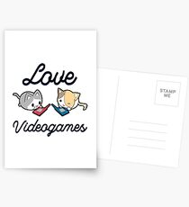 Love Videogames Postcards
