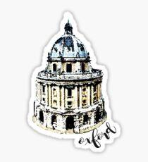 radcliffe Kamera Oxford Großbritannien Sticker