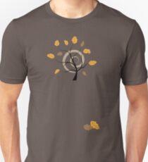 Orange autumn Unisex T-Shirt