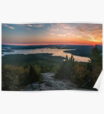 Lake Winnipesaukee, New Hampshire. Poster