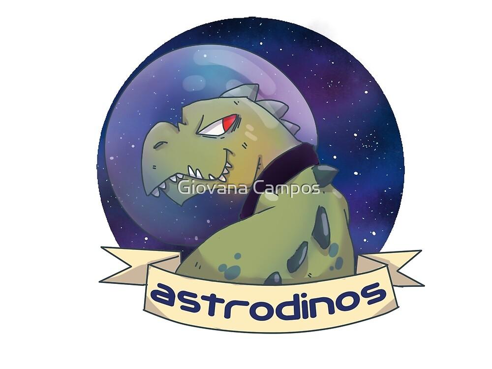 Astrodino Rex by Giovana Campos