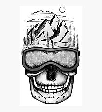 Skullorado | double exposure art Photographic Print