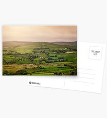 Fifty Shades Of Green Postcards