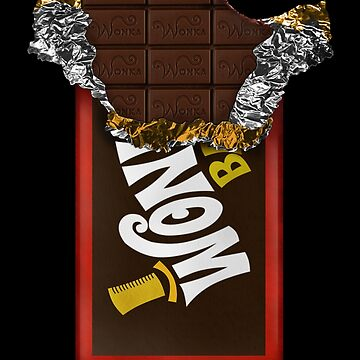 Wonka Chocolate Bar con boleto dorado de GalihArt