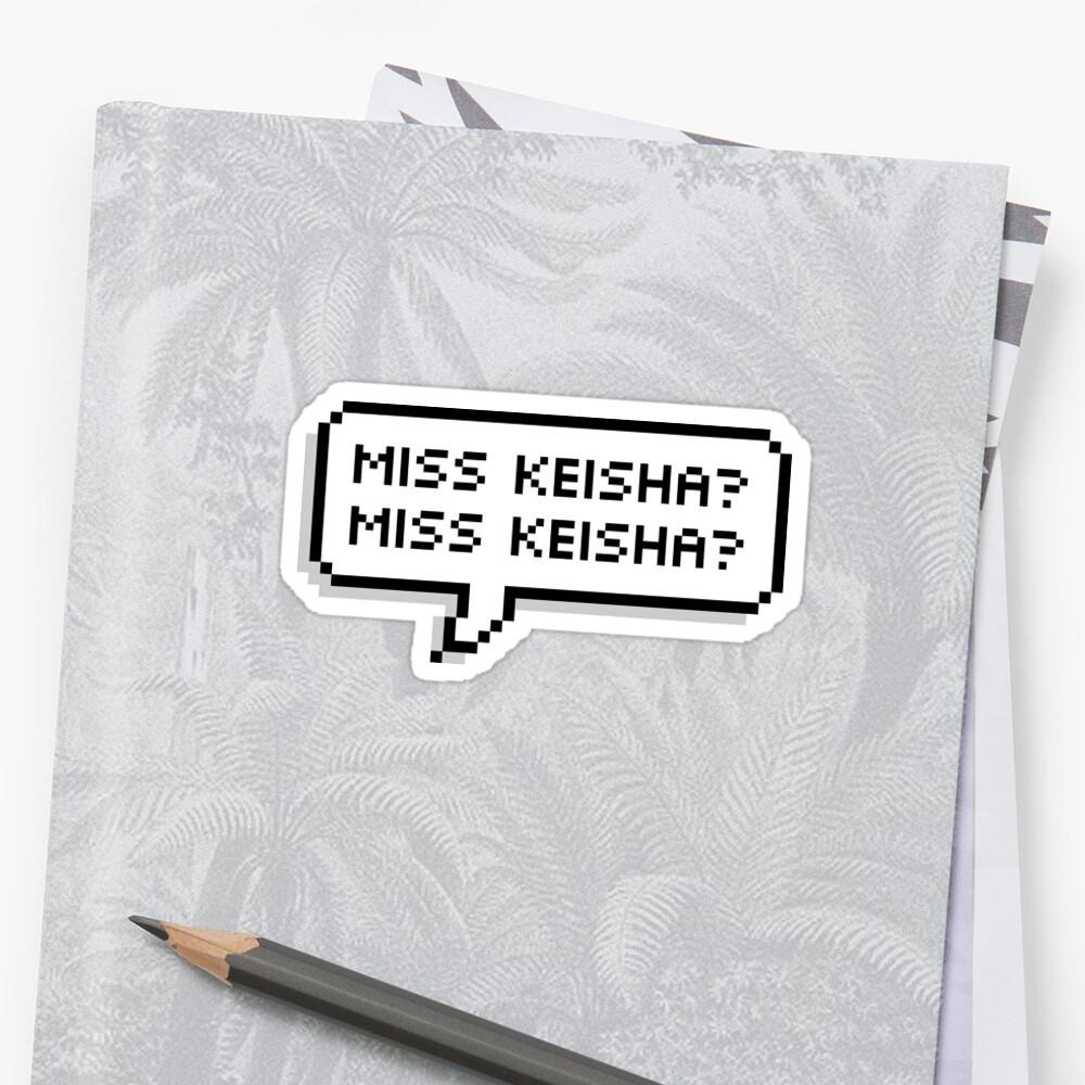 miss keisha by clairekeanna