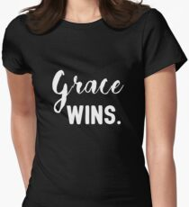 Grace wins Women's Fitted T-Shirt