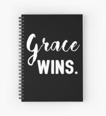 Grace wins Spiral Notebook