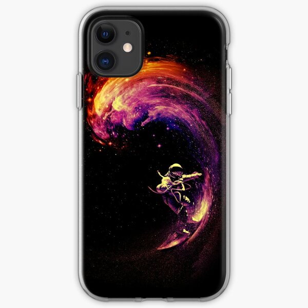 Space Surfing iPhone Soft Case
