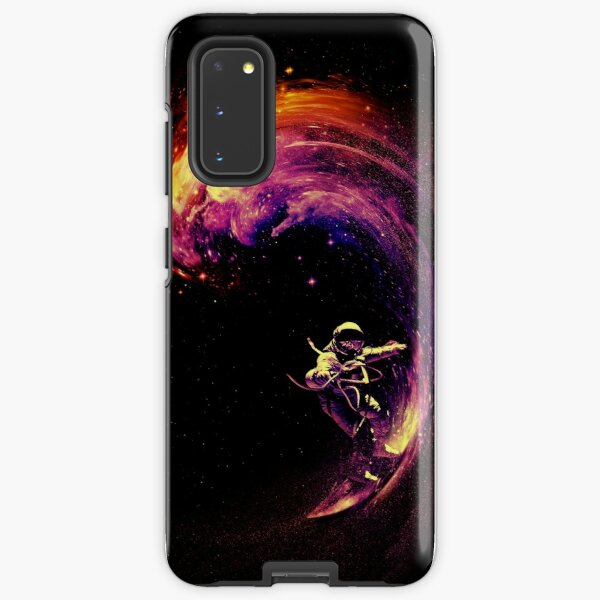 Space Surfing Samsung Galaxy Tough Case