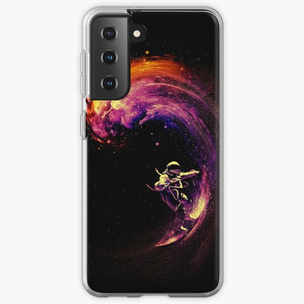 Space Surfing Samsung Galaxy Soft Case