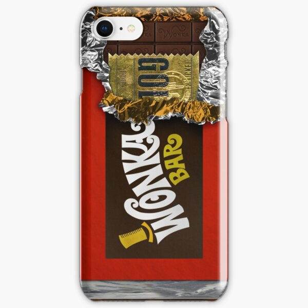 Wonka Chocolate Bar with Golden ticket iPhone Snap Case