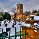 Church In Snow~ by WJPhotography